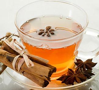 Spicy detox tea
