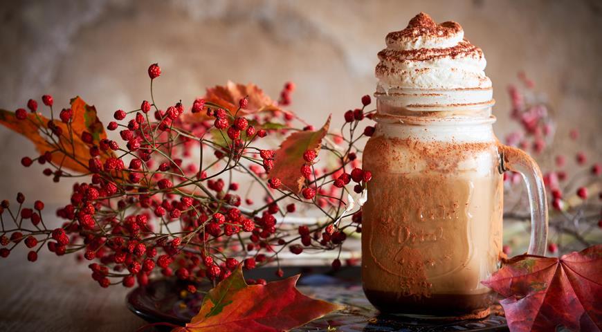 Chocolate mocha coffee