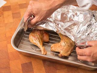 Folk recipe for making duck legs