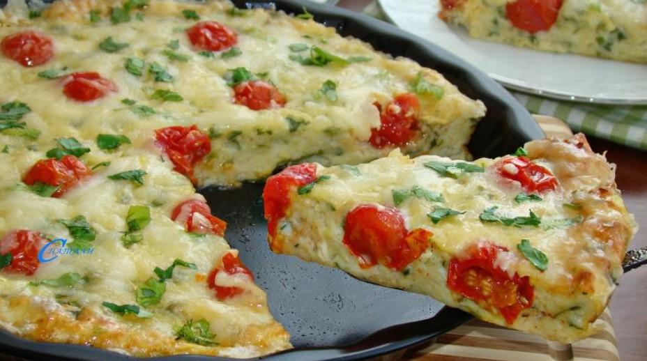 Squash pizza
