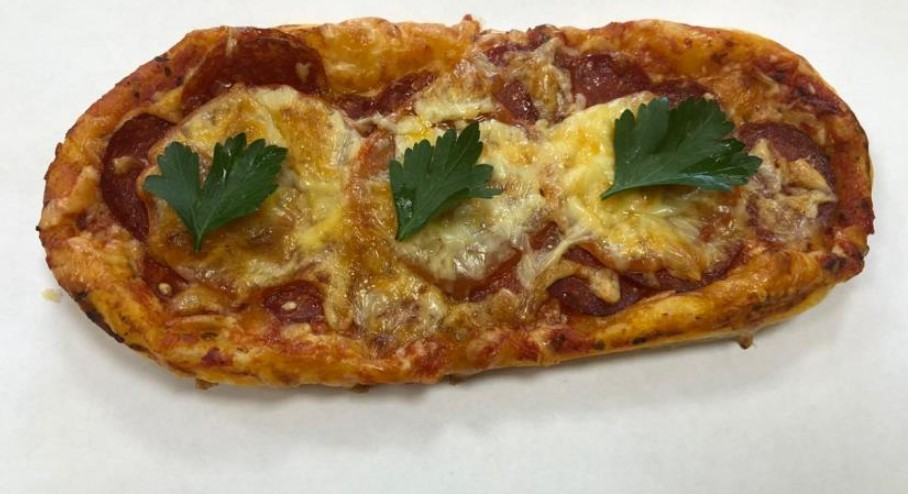 Pepperoni mini pizza