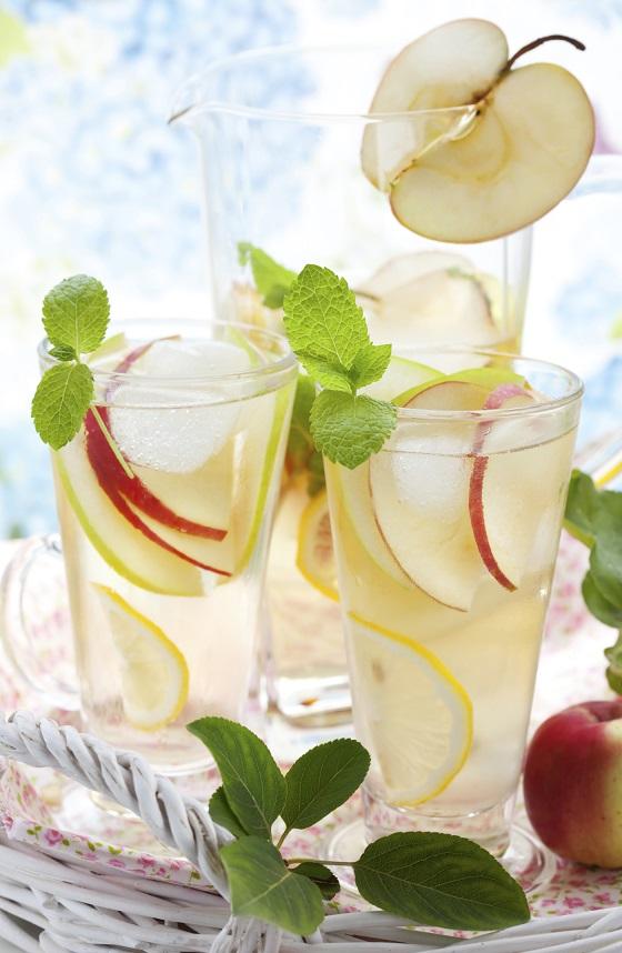 Ginger Apple Lemonade