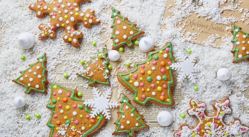 Gingerbread with orange and lemon zest