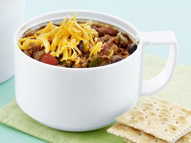Chili with beans and turkey