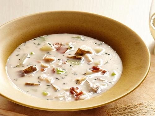 New England Clam Chowder Clam Soup