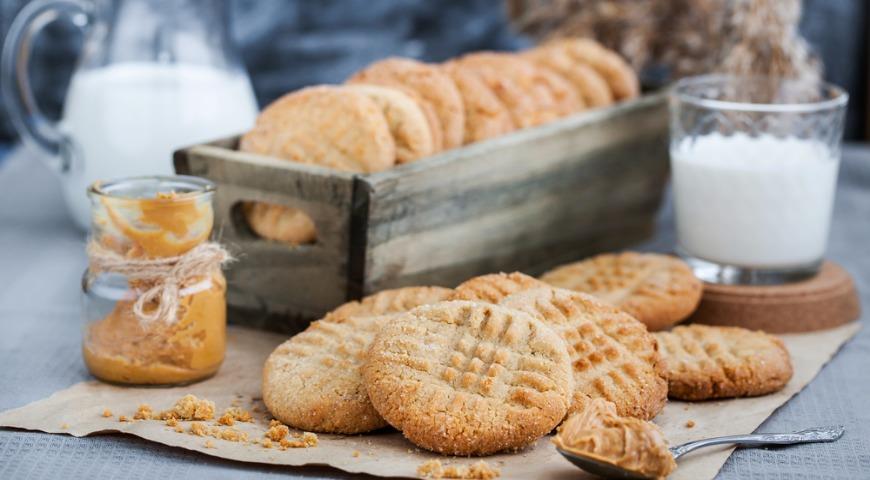 Delicious shortbread cookies