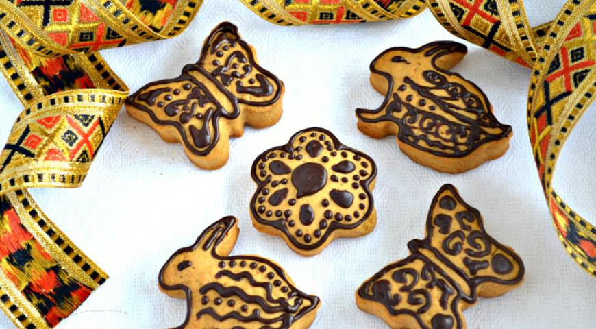 Easter gift cookies