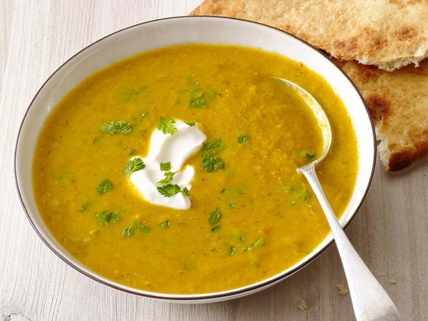 Lentil soup with spices
