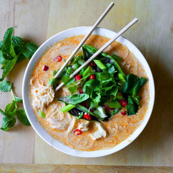 Jamie Oliver's Thai Chicken Soup