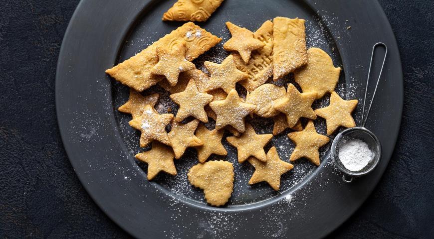 Lemon Curly Cookies