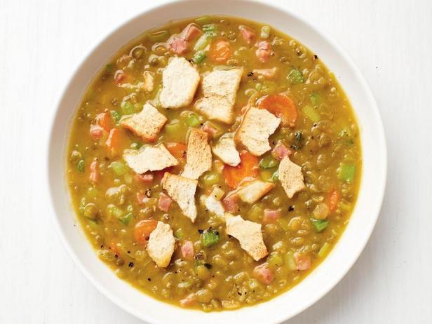 Pea soup in a slow cooker