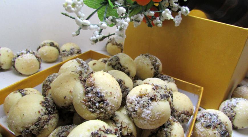 Mini shortbread cookies