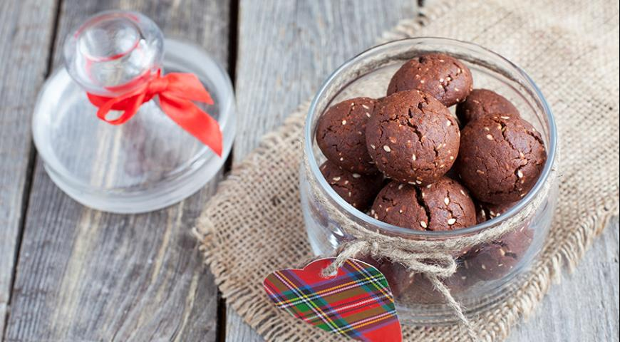 Italian chocolate chip cookies with nuts