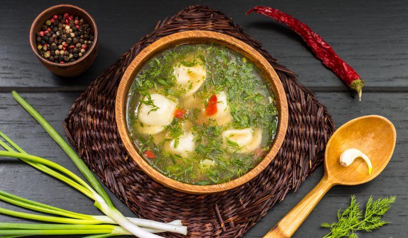dumplings soup
