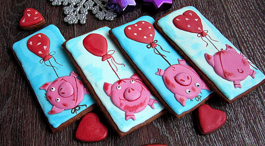 Chocolate Cookies Piglets