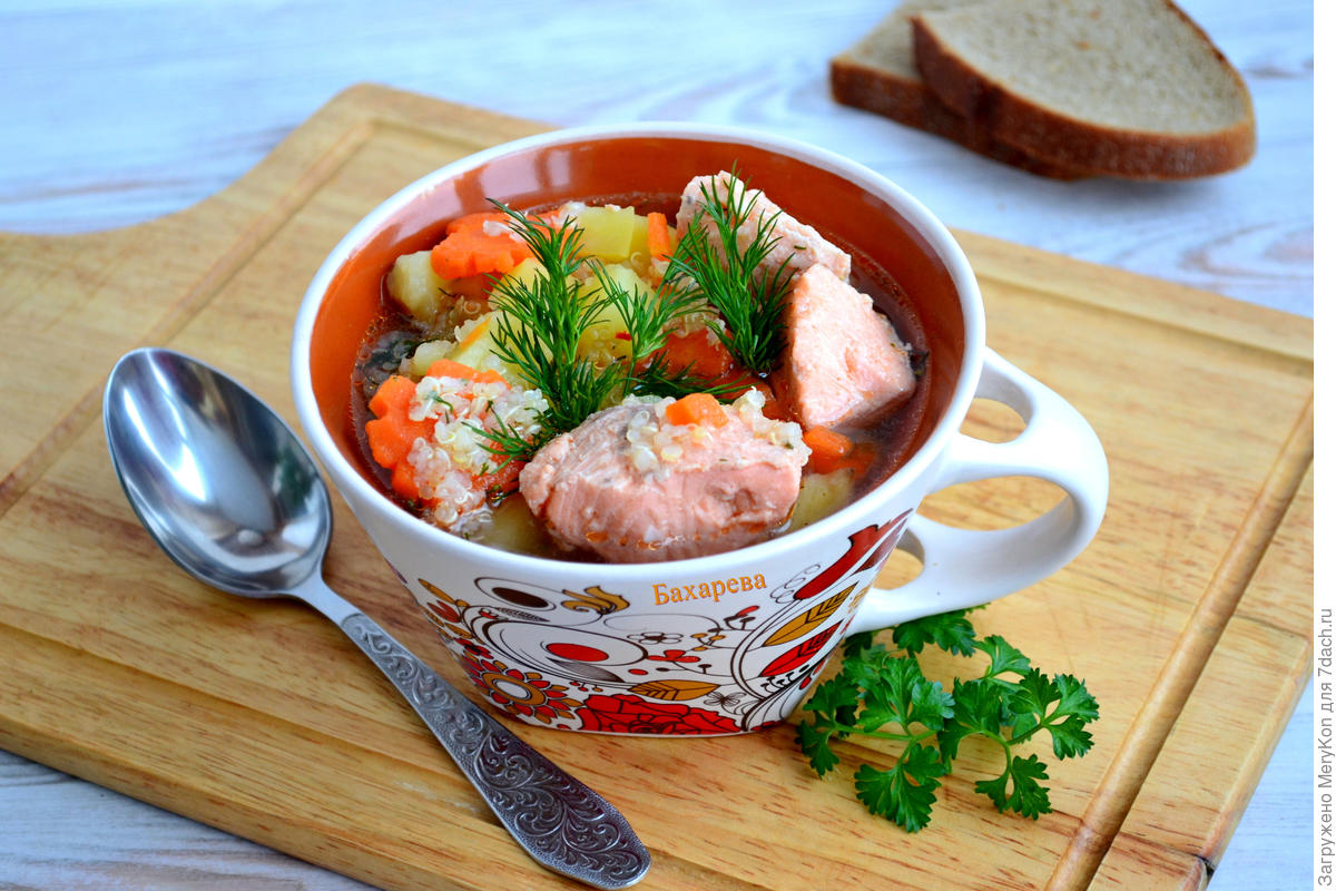 Fish soup with a twist