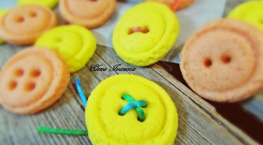 Cookies Vanilla Buttons