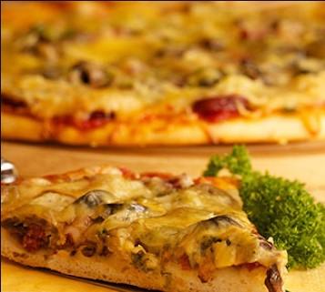 Almost Italian pizza