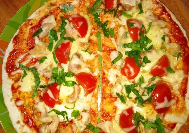 Very simple pizza
