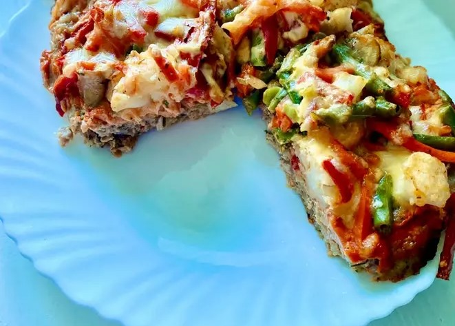 Minced pizza