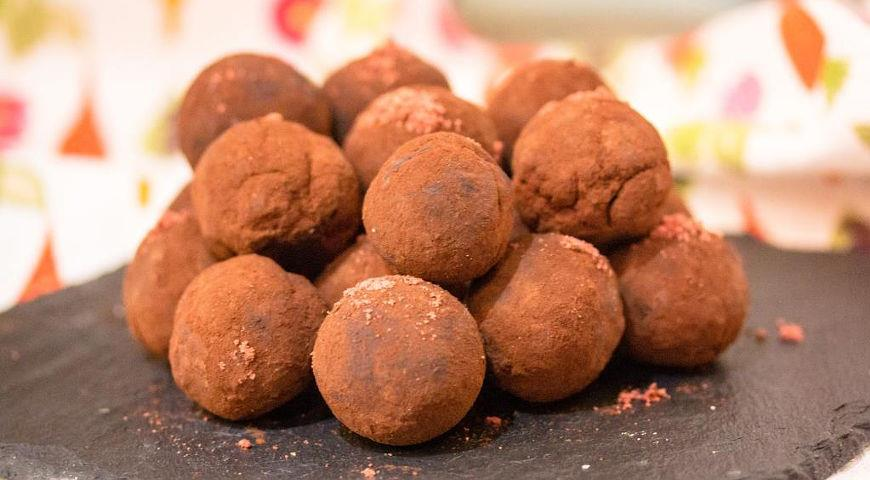 Coffee truffle