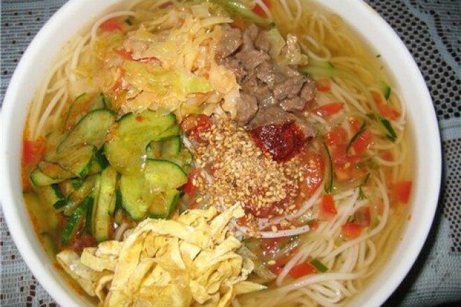 Cold Korean soup