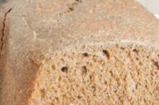 Rye bread with malt in a bread maker