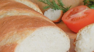 Bread with feta cheese