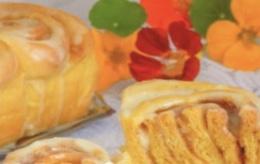 Cinnabon pumpkin buns