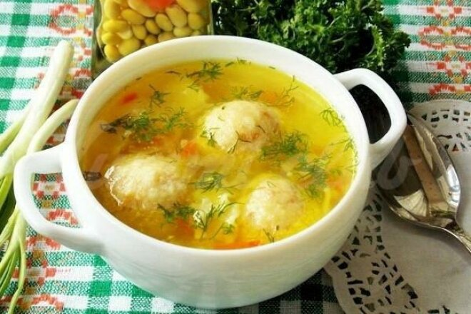 Simple Cheese Ball Soup