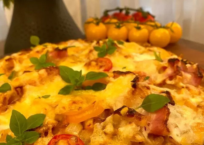 Bacon Potato Pizza