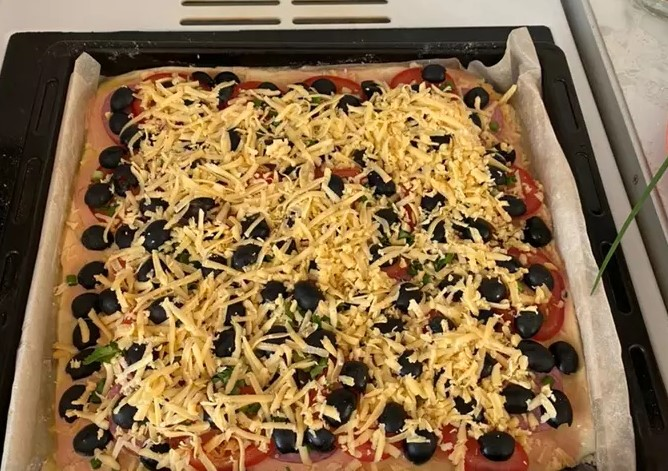 Home-style pizza