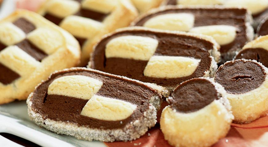 Chess Shortbread Cookies