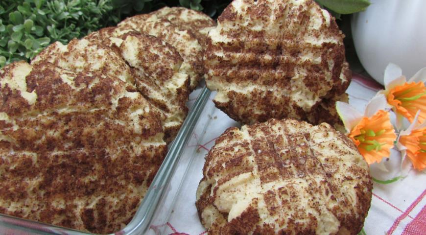Cinnamon shortbread cookies