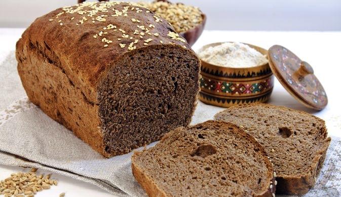 Wheat-rye bread with cocoa, cinnamon and honey
