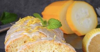 Lemon zucchini muffin