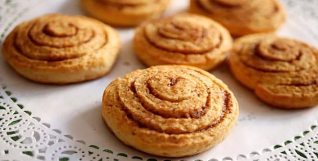 Kefir cookies in the oven