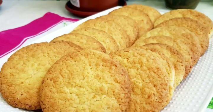 Americano Coconut Cookies