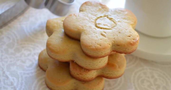 Low fat milk cookies