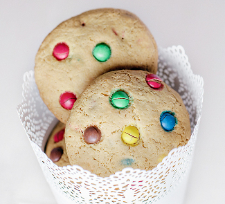 Cookies with M&M