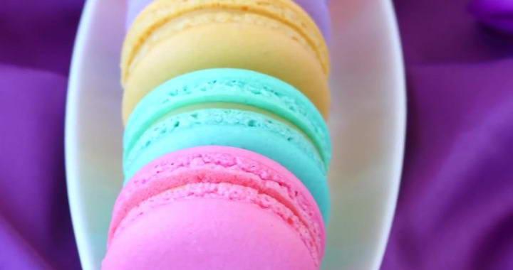 Macarons cookies (macarons)