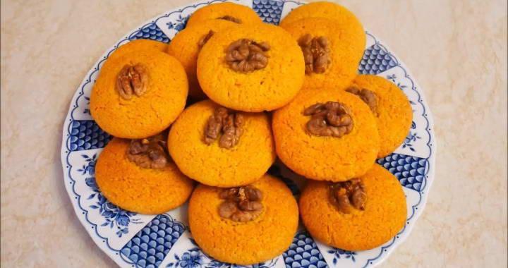 Cornmeal cookies