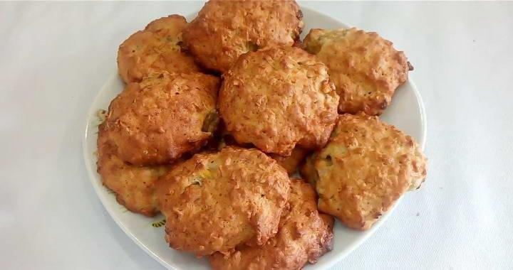 Banana Soft Oatmeal Cookies