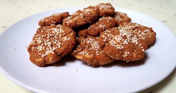 Diet buckwheat cookies