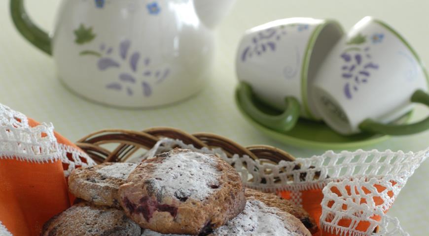 Cherry Curd Cookies