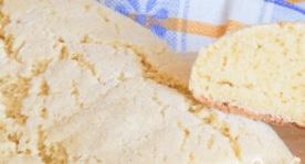 Corn flour bread