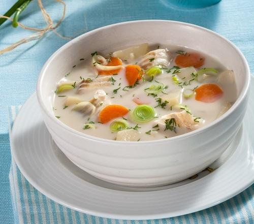 Finnish fish soup, or What to cook with leeks
