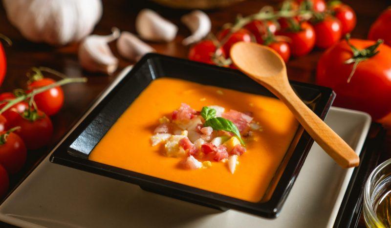 Salmorejo cold soup