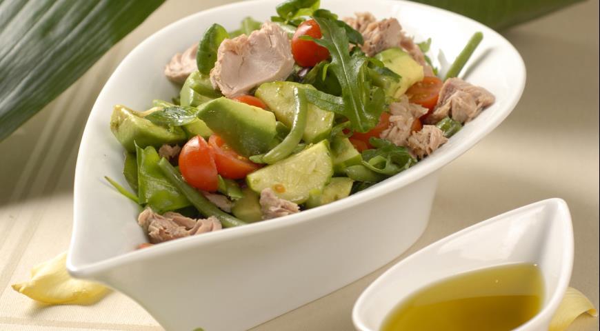 Canned Tuna Vegetable Salad