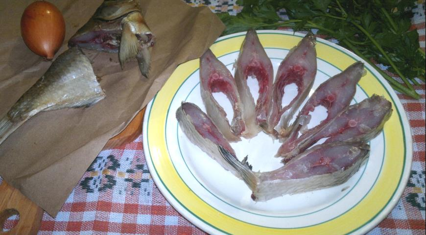 Dried bream and ram